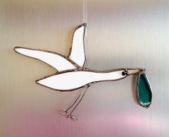 // new baby boy stork