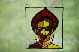 // Frida Kahlo custom portrait