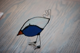 // free standing bluebird