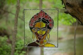// Frida Kahlo portrait