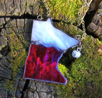 // MN stocking ornament