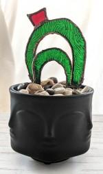 // 3d cacti in planter